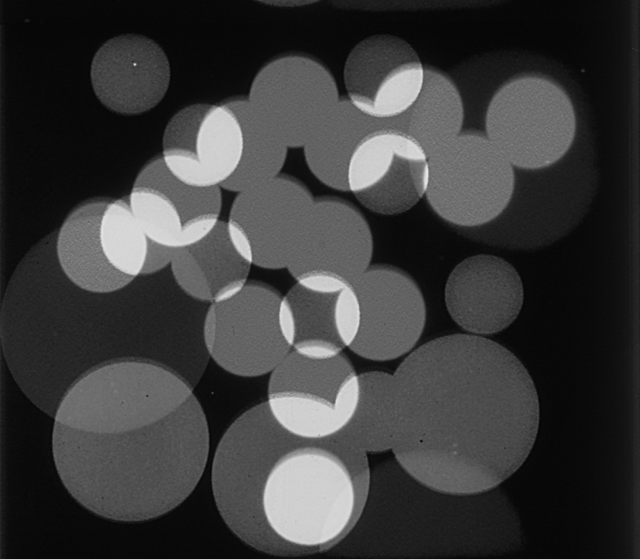 Fotograma de Optical Poem, de Oskar Fischinger